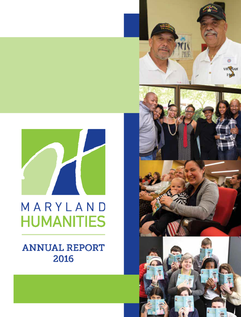 Maryland Humanities Annual Report 2016
