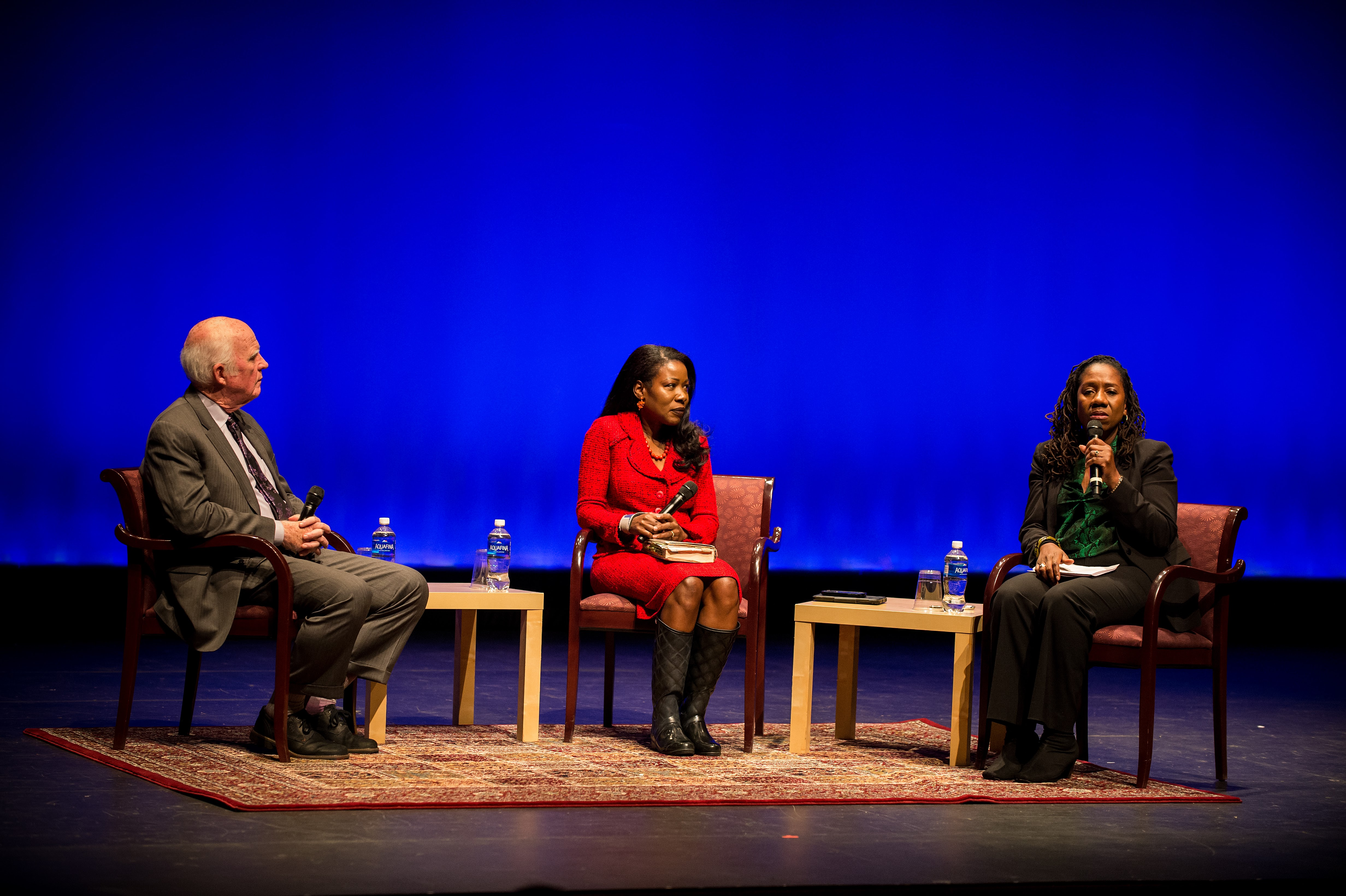 Taylor Branch, Isabel Wilkerson, and Sherrilyn Ifill in conversation