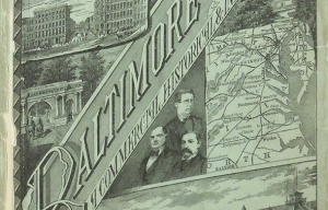 Rare Baltimore History Book