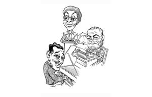 Chautauqua 2016 Caricature