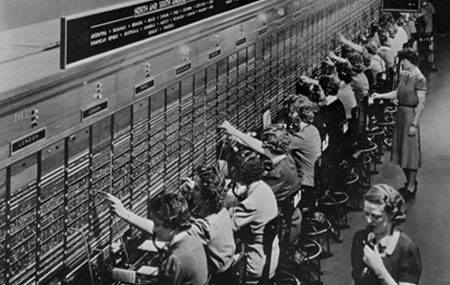 Switchboard Operators Shown At Museum