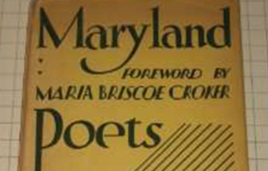 Maryland Poets Cover