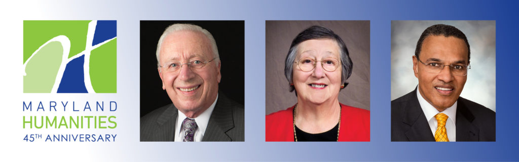 photo_banner_of_45th_Anniversary_honorees_JamesTBrady_CatherineRGira_and_FreemanAHrabowski