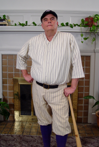 Gene Worthington is Babe Ruth
