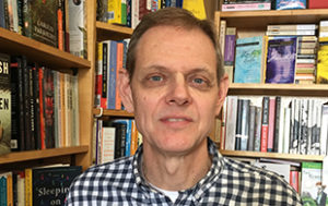 Fred Powell of Main Street Books located in Frostburg, MD