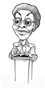 Gwendolyn Brooks Caricature