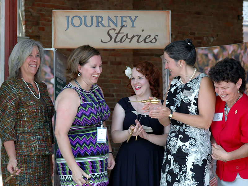 Journey Stories Ribbon Cutting