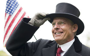 Judd Bankert as Woodrow Wilson