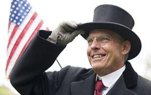 Judd Bankert as Woodrow Wilson