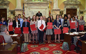 Students and Teachers Honored for MD History Day