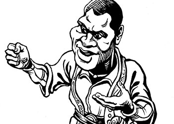Caricature of Robeson
