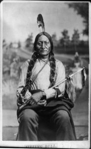 Sitting Bull circa 1881. Courtesy of the Library of Congress