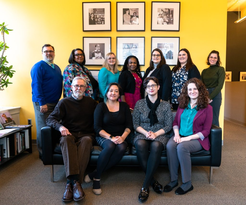 Group photo of Maryland Humanities staff