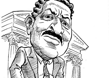 Caricature of Thurgood