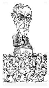 Woodrow Wilson by Tom Chalkley