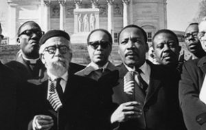 Abraham Joshua Heschel and Dr. Martin Luther King Jr.