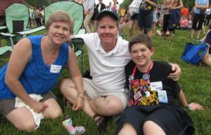 James Sappington with Family