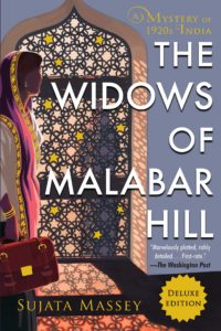 Book cover of Sujata Massey's The Widows of Malabar Hill