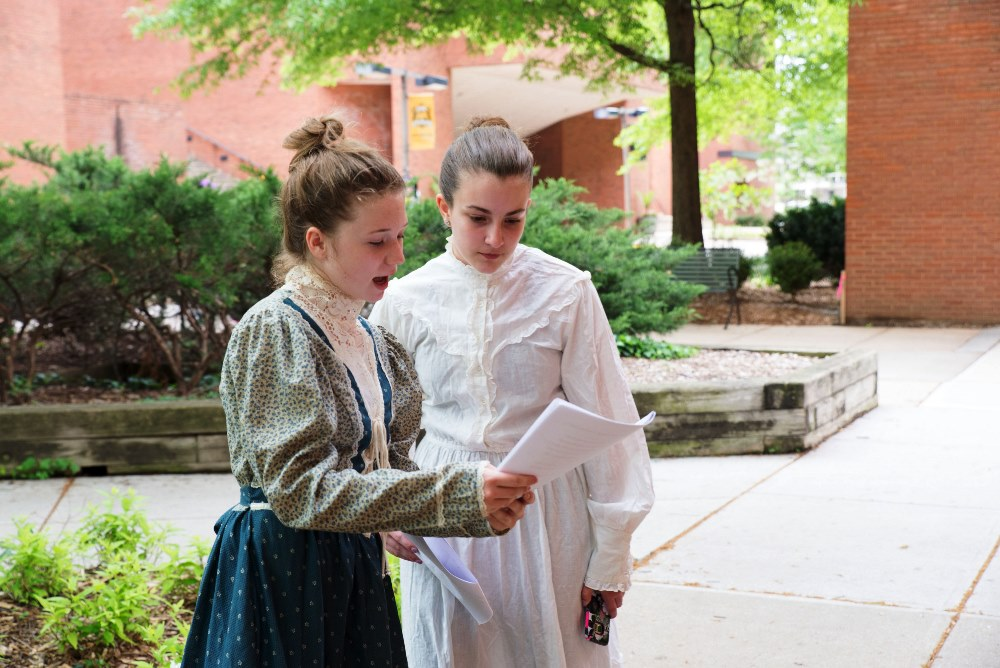 Group performance competitors at Maryland History Day 2017